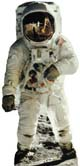 Buzz Aldrin Lifesize Stand-Up
