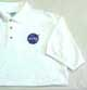 NASA Polo Vector Shirt/White